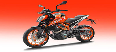 All New 2017 KTM Duke 390 Wallpaper