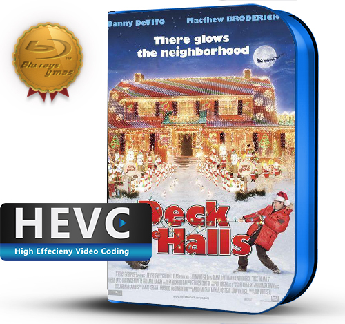 Deck the Halls (2006) 1080P HEVC-8Bits BDRip Latino/Ingles(Subt.Esp)(Familiar, Comedia)