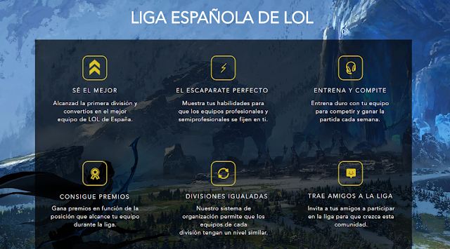 Se crea la Liga Española de League of Legends