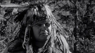 "Gary Farmer as the outcast Native American ""Nobody"" aka Exaybachay in Dead Man (1995), Directed by Jim Jarmusch"