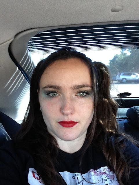 harley quinn comiccon makeup
