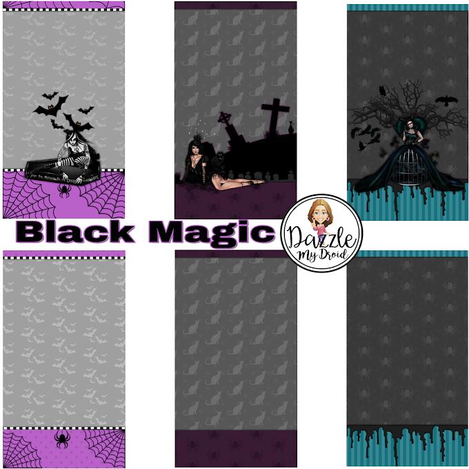 Black Magic Wall Set
