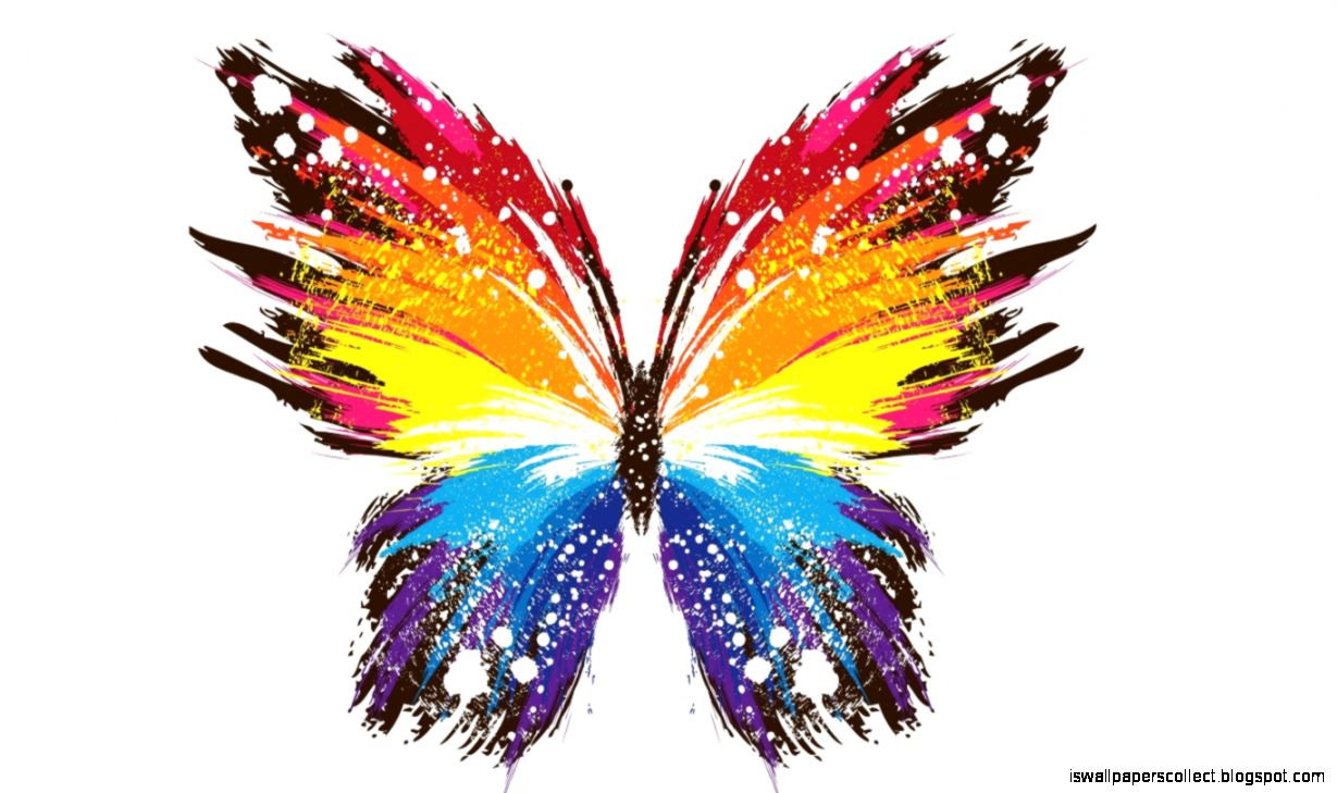 Abstract Design Butterfly Wallpaper | Wallpapers Collection
