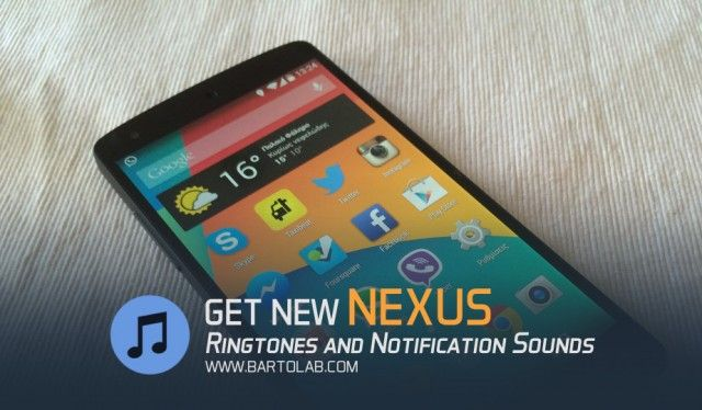Nexus Original Ringtones and Notifications