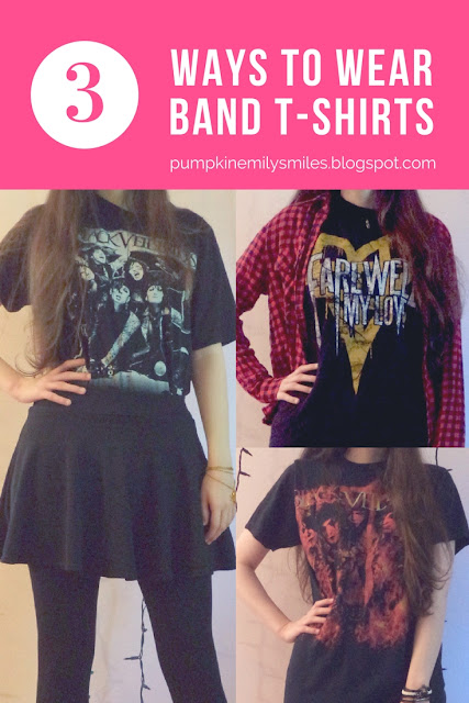 Ways to Wear Band T-Shirts | How to Style Band Tees