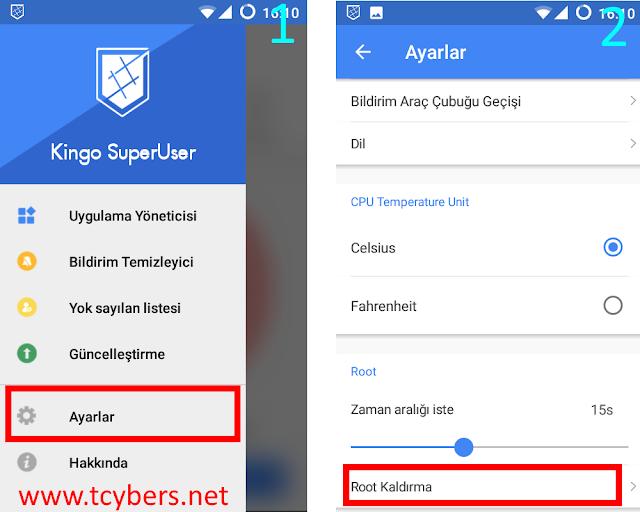 Android Root Nasıl Kaldırılır?
