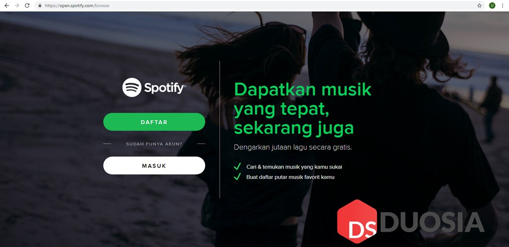 play spotify web