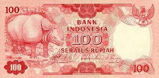 uang seratus rupiah jaman dulu