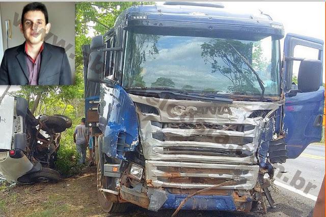 Chefe de assessoria do Detran-MA morre em colisão na BR 135 – CURVA DO DIDI