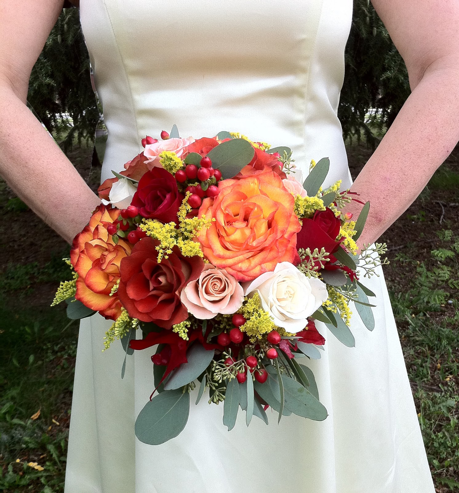 Wedding Flowers Autumn: The Enchanted Petal: Here Comes The Autumn Bride