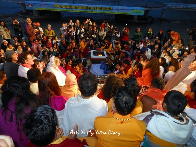 Ganga Aarti at Parmarth Niketan Ashram in Rishikesh