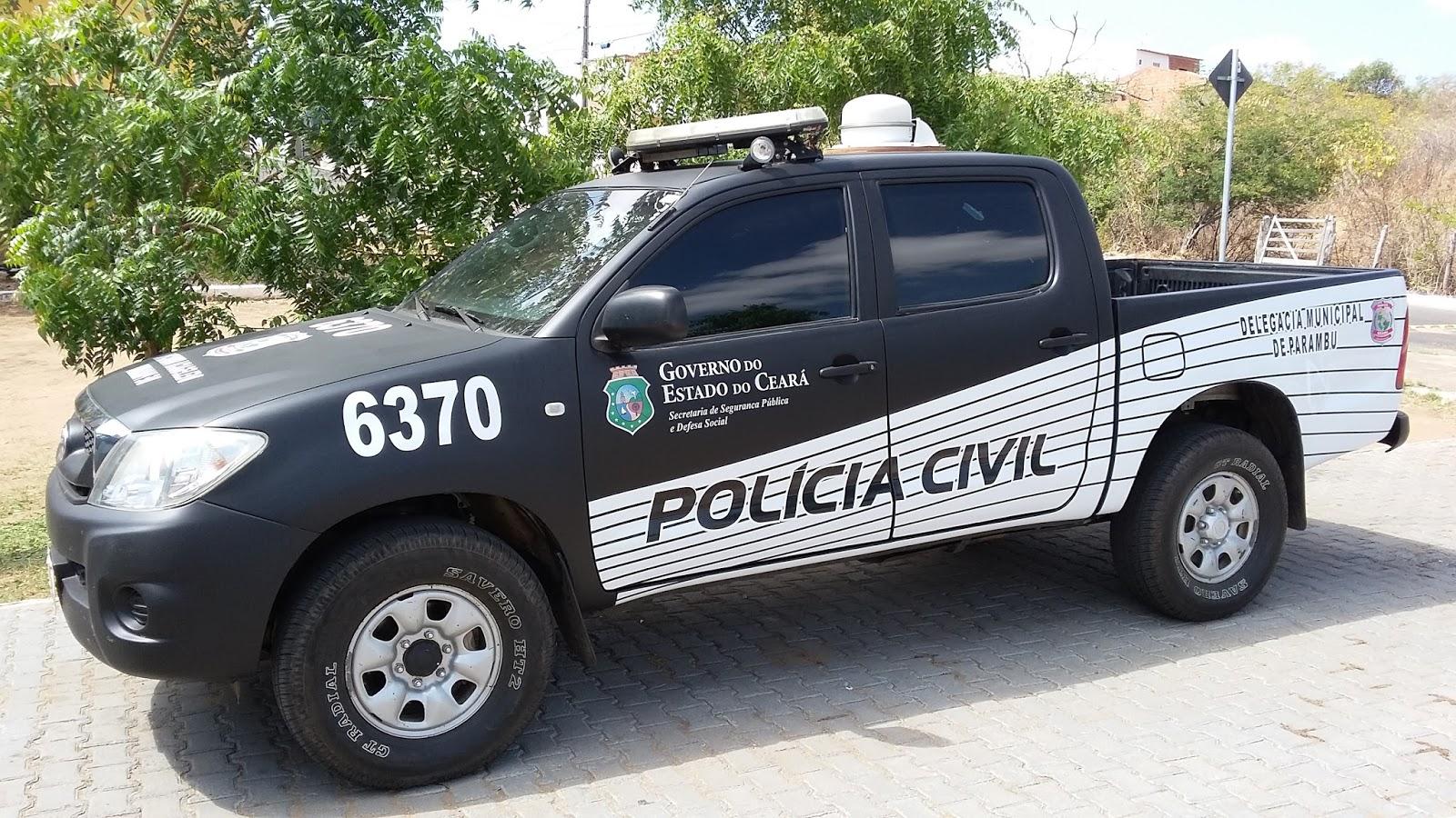 Resultado de imagem para carro da policia civil ce