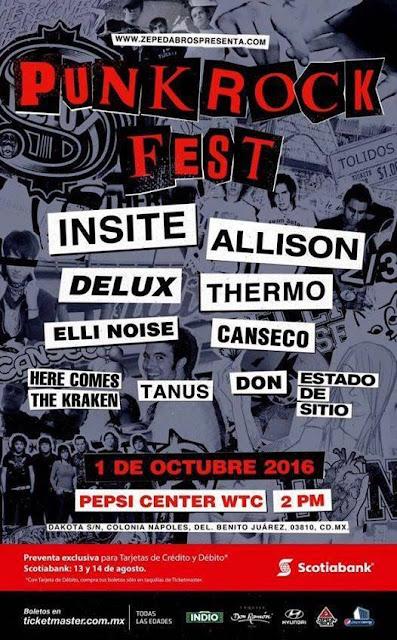 Punk Rock Fest en el Pepsi Center