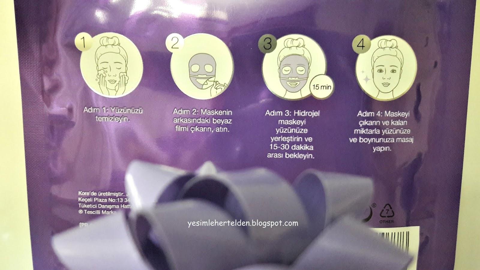 Kırışıklıklar Yaşlanma Maskeleri: Hidrojel ve Ev