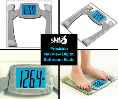 Enter the Eat Smart Precision Maxview Digital Bathroom Scale Giveaway. Ends 7/25