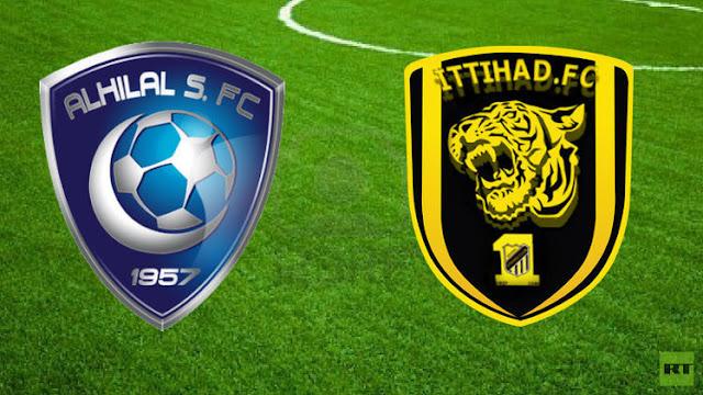 نتيجة مباراة الهلال 1-1 الإتحاد اليوم السبت 13-1-2018 في الدوري السعودي