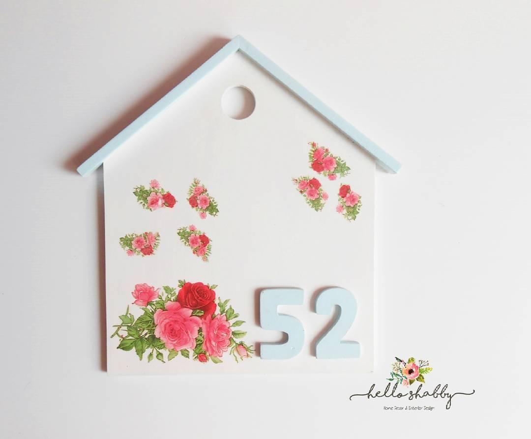 Cat Rumah Shabby - desain interior ekterior rumah shab chic 2017 hello shab jual papan alamat rumah unik dan lucu