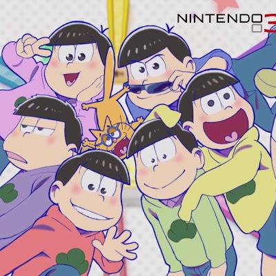 Osomatsu-san Matsu Matsuri! para Nintendo 3DS en dos anuncios