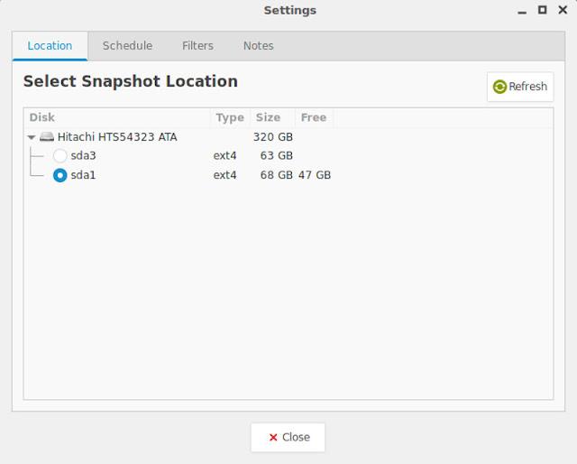 Tutorial ini menawarkan kepada Anda cara mem Cara Backup Dan Restore Linux Dengan Timeshift