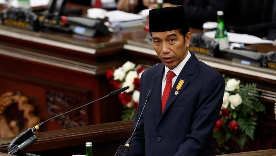 Lagi, Jokowi Katakan Tak Pernah Kriminalisasi Ulama