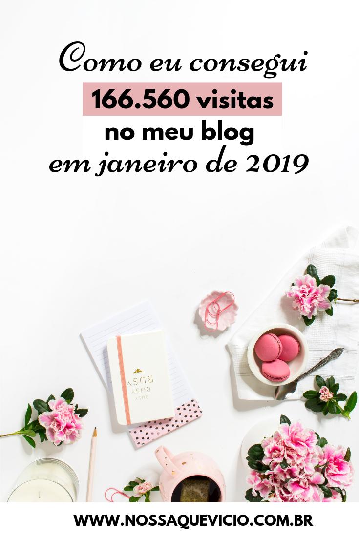 COMO EU CONSEGUI 166.560 VISITAS NO MEU BLOG EM JANEIRO DE 2019