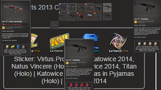 Current CS:GO inventory sack