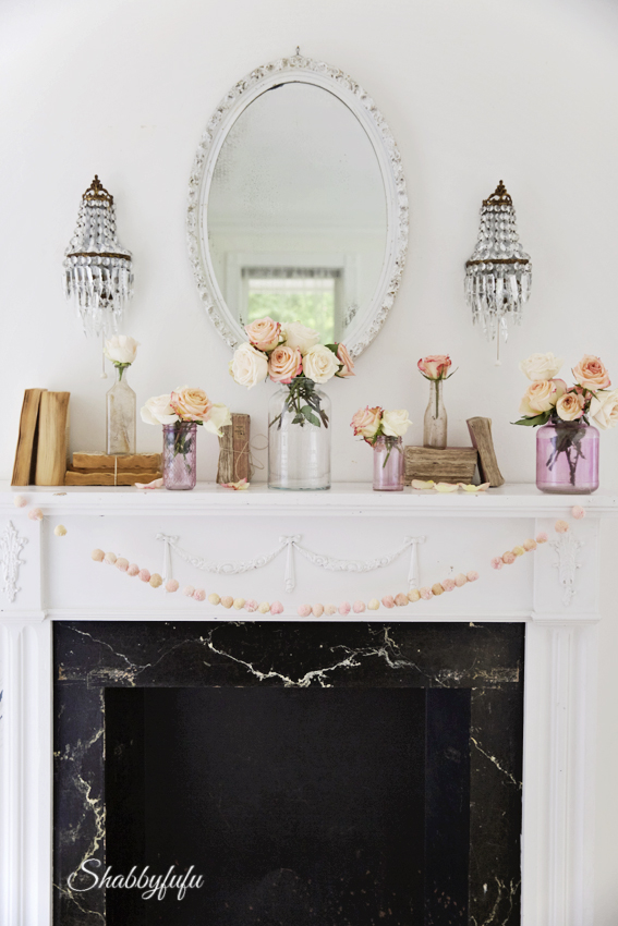 french style mantel