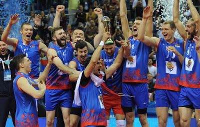 VOLEIBOL - Liga Mundial masculina 2016: Serbia asusta a los brasileños y alzan su primera Liga Mundial