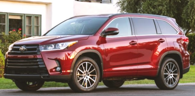 2019 Toyota Highlander Changes, Release, Price