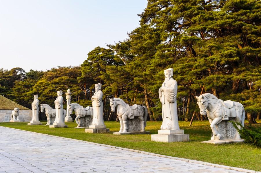 Resultado de imagen de Conjunto de tumbas de Koguryo