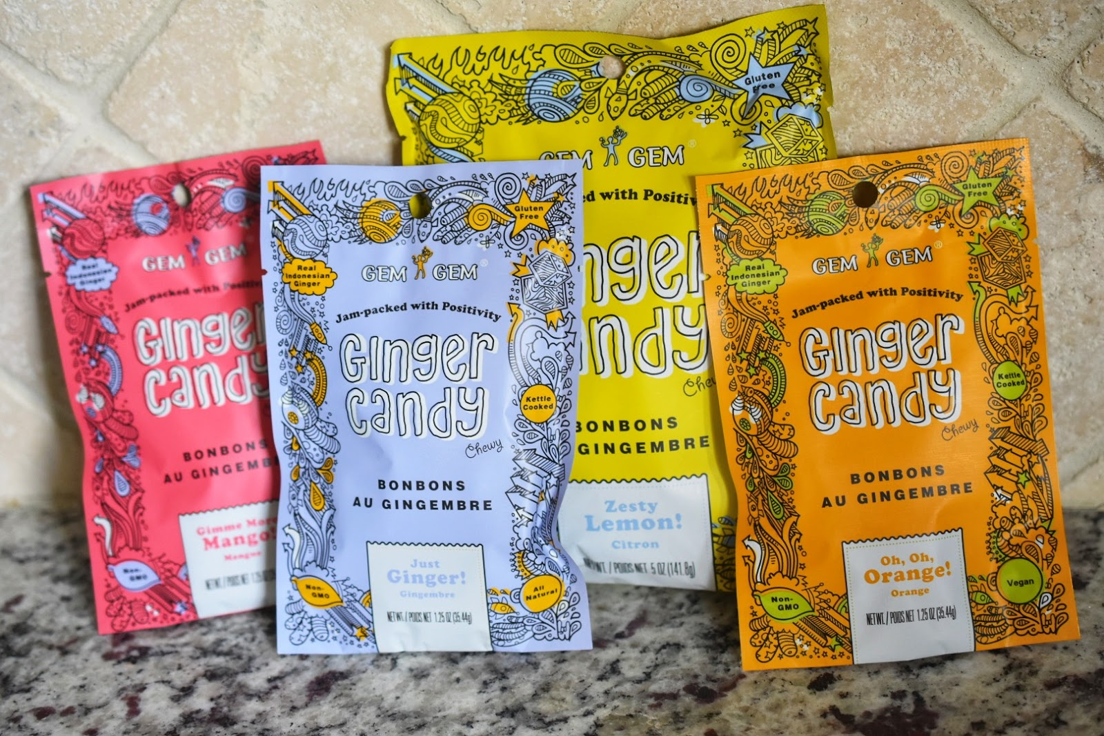My Road Trip Go-to Healthy Ginger Candy Snack via  www.productreviewmom.com