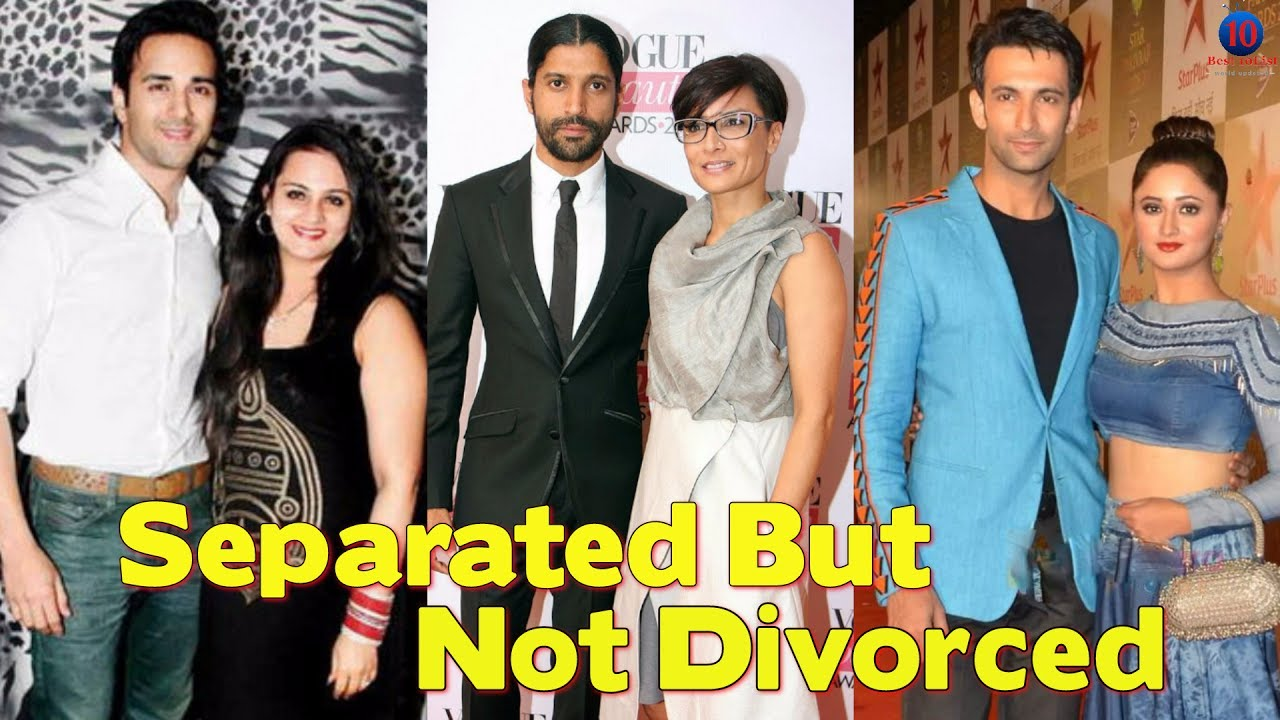 Separated but not divorced