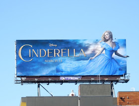 Cinderella movie billboard