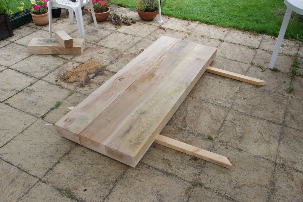Once You Cut Beams To Size 1 8m In This Case Lay Them On The Floor