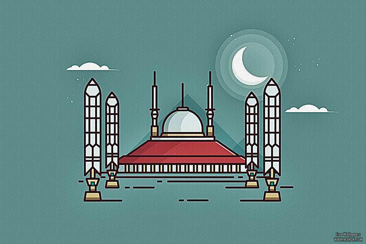 10 Gambar Wallpaper Masjid 1920x1200 Pixel Untuk Desktop PC / Laptop