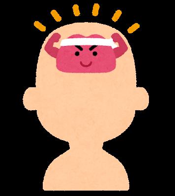 頭の体操のイラスト