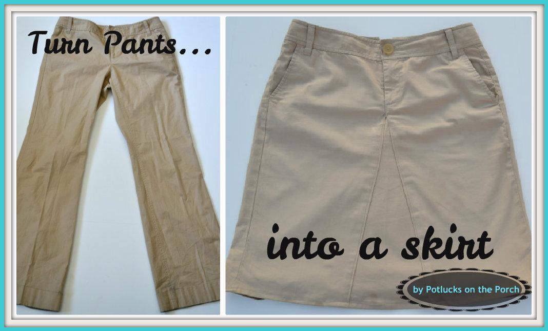 Pants Into Skirt 94