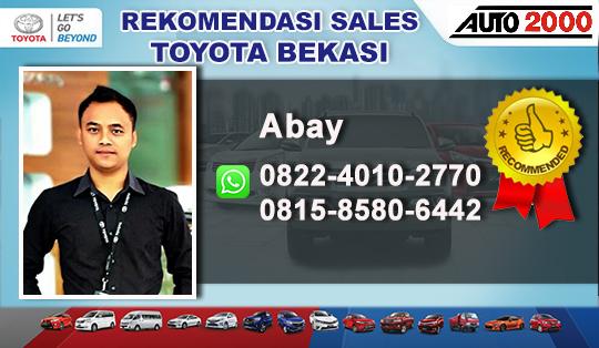 Rekomendasi  Sales Toyota Bekasi Barat