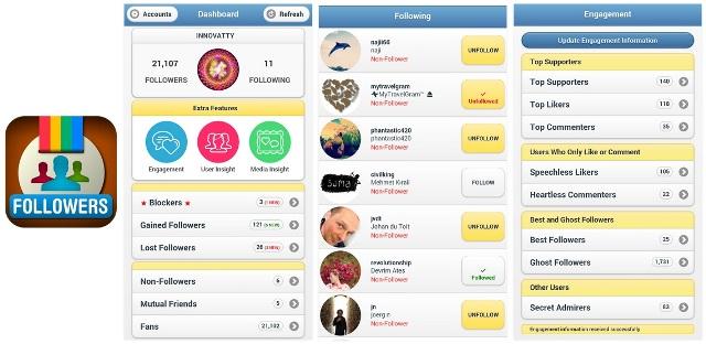 Hasil gambar untuk cara menggunakan aplikasi instafollow
