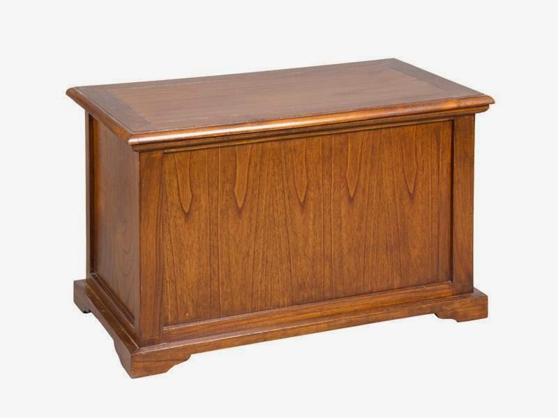 Baul madera, cofre madera