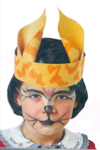 Tutorial de Artesanías  8 Vinchas y gorros para disfraces infantiles 1cfc4b8a34f