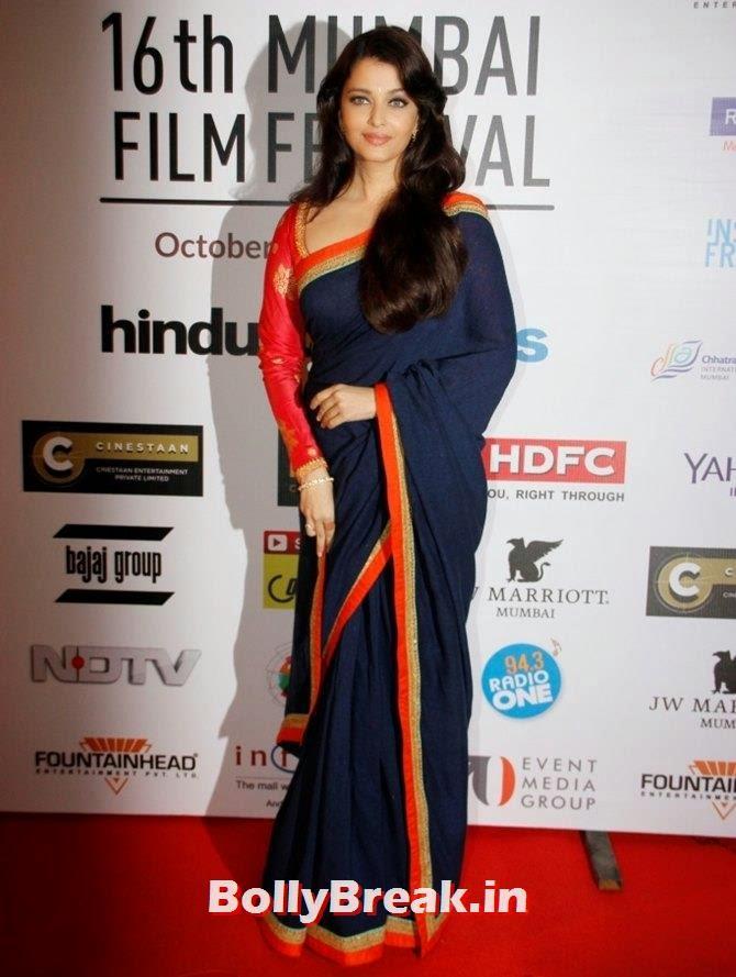 Aishwarya Rai Bachchan, Mumbai Film Festival 2014 Photos