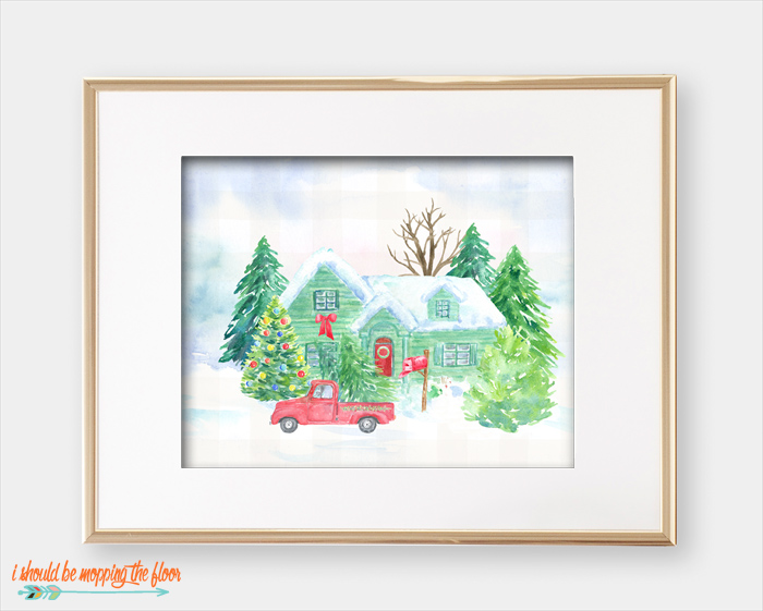 Home by Christmas Printables