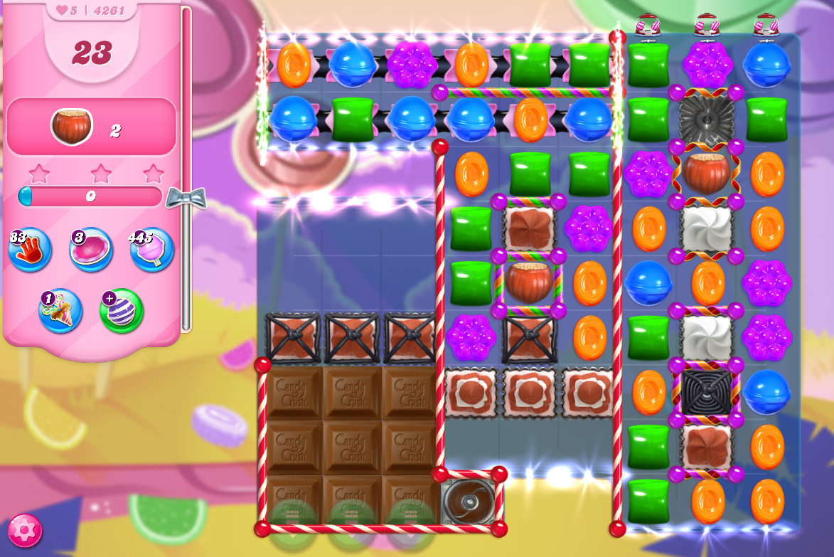 Candy Crush Saga level 4261