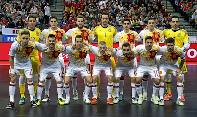 Spain Indoor Team