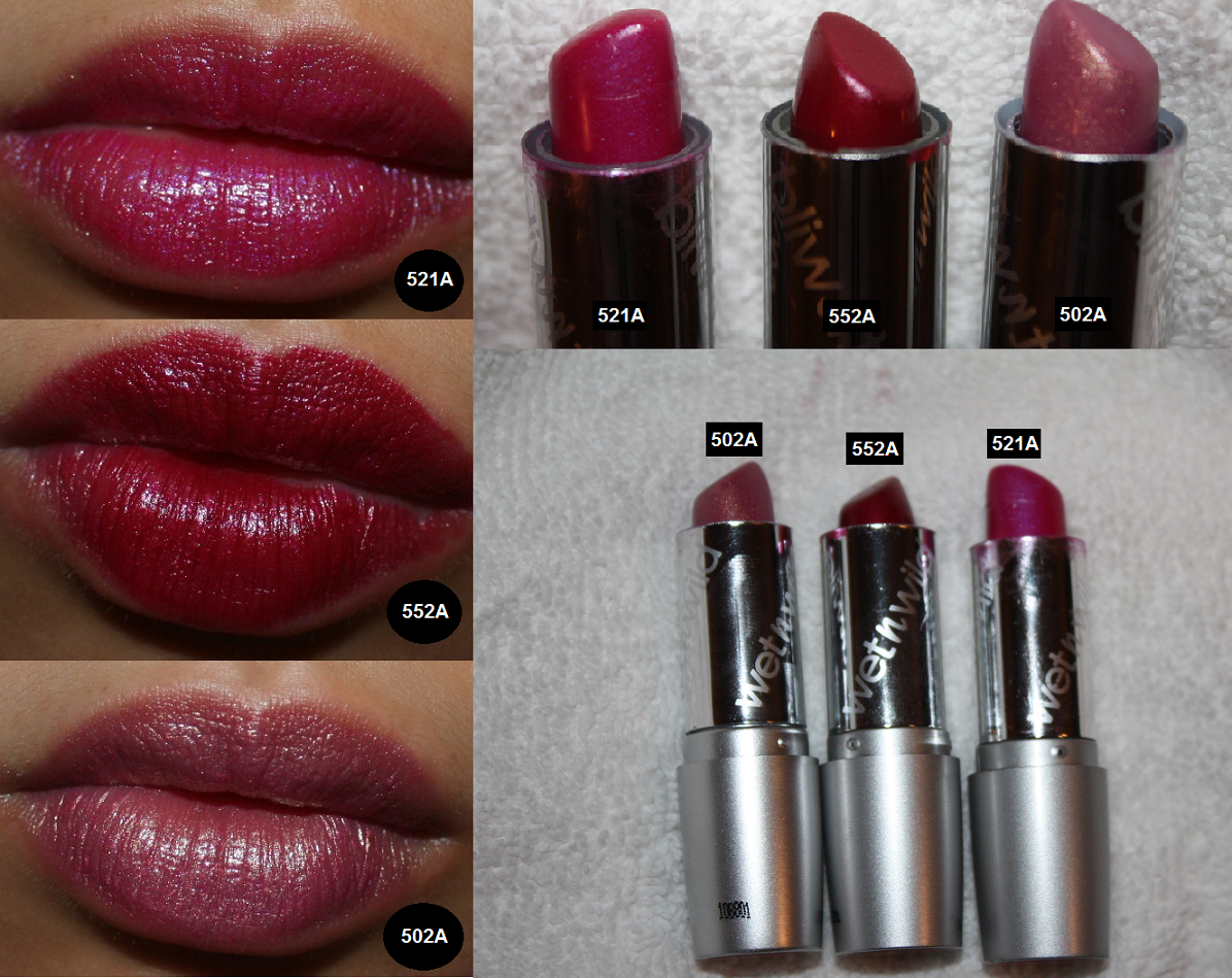 beast amp beauty review amp swatches wet n wild silk finish