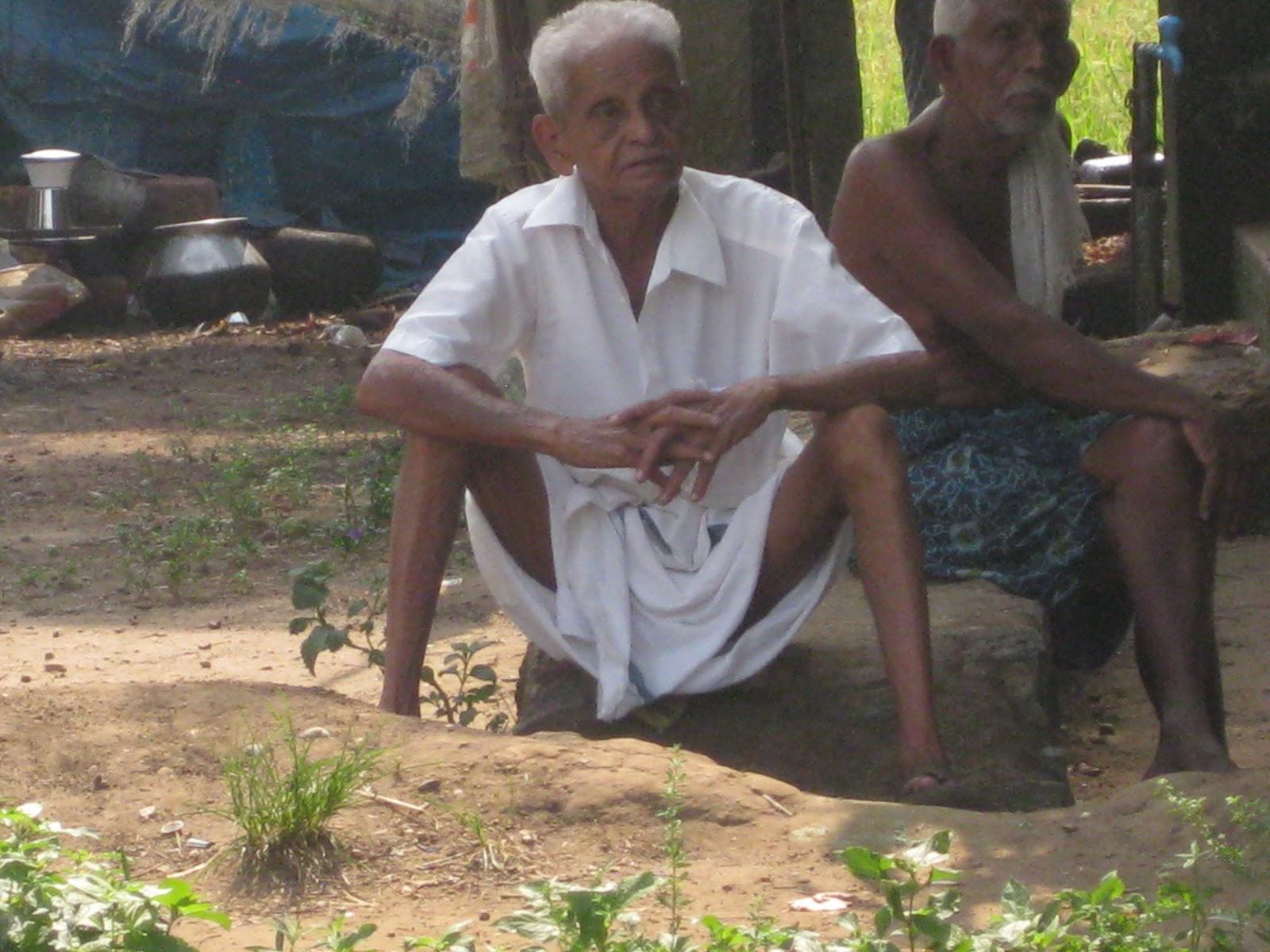 Indian Grandpa Nude