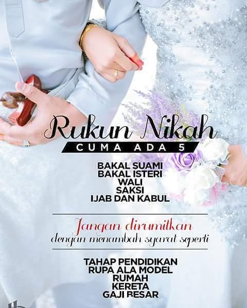 Rukun Rukun Nikah : rukun, nikah, Personal, Lifestyle, Blogger:, Rukun, Nikah, Berapa, Sayangg...