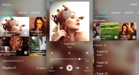 Como Descargar la última APK de Samsung Music con modo oscuro y nueva interfaz de usuario