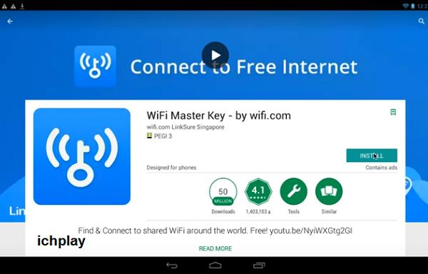 Tải Wifi Master Key Chìa Khóa Vạn Năng Cho PC, Laptop Win 7 8 8.1 10 XP f